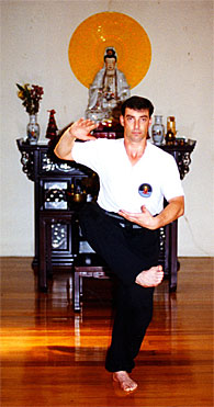 DiscipleTraining Chamber - Alan performing the Art of Wuji